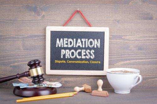 divorce mediation process is used to resolve conflicts in negotations