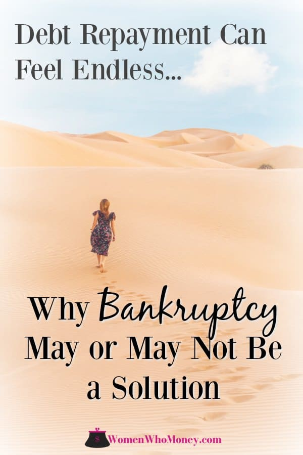 When debt seems unmanageable debt you might consider bankruptcy. Here's what you need to know about how it works and whether it's right for you, or if you can pursue other alternatives.