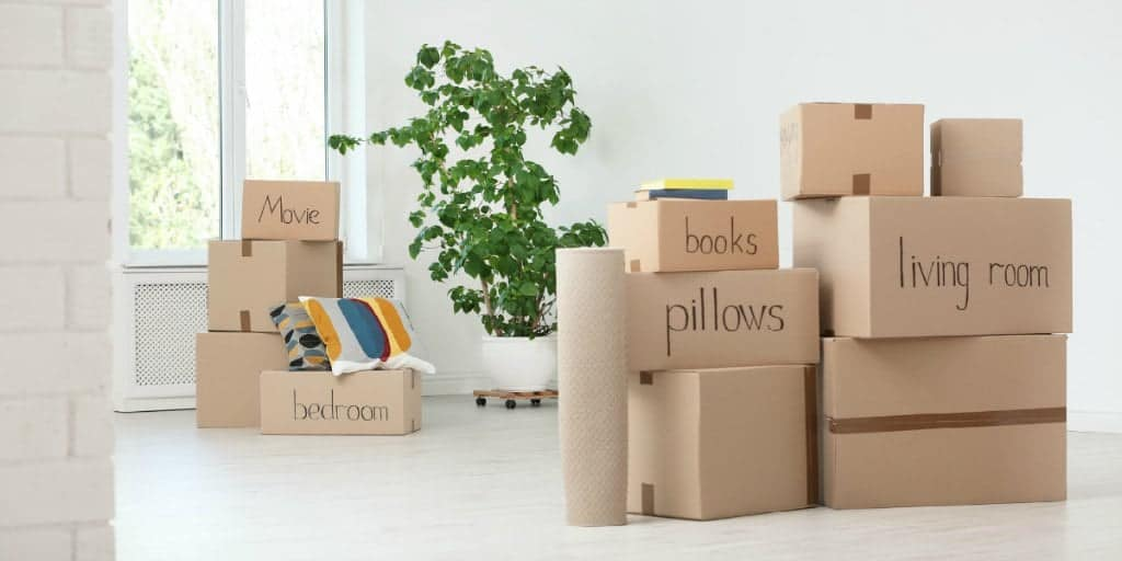 can you save money when you move packing and moving your own boxes