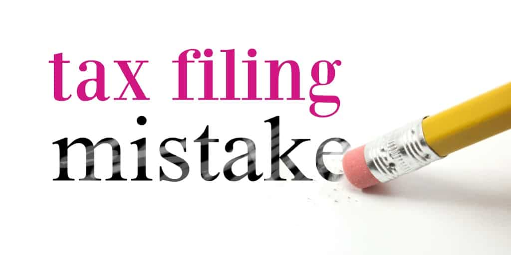 erasing tax filing mistakes