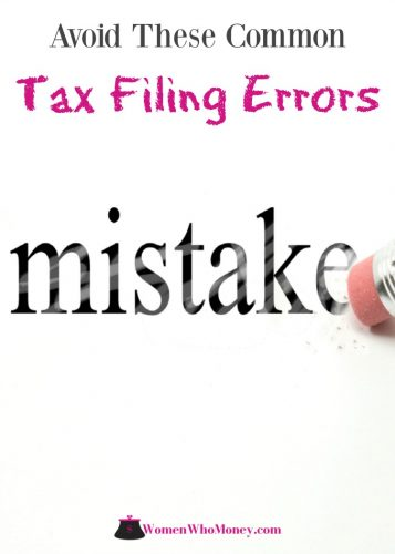 Even a small mistake made when filing your tax return could result in unexpected tax liability. Avoid these ten common tax filing errors for quicker processing of your return and refund.