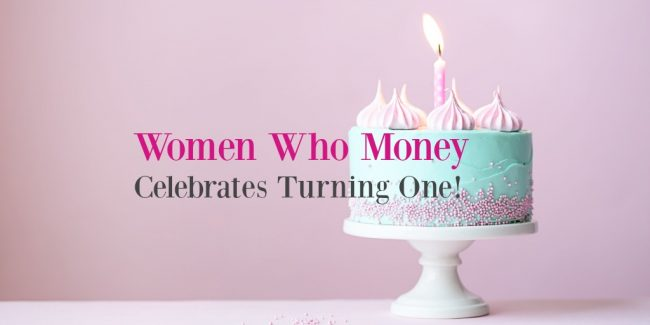 women who money celebrates one year of personal finance articles