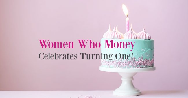women who money celebrates turning one