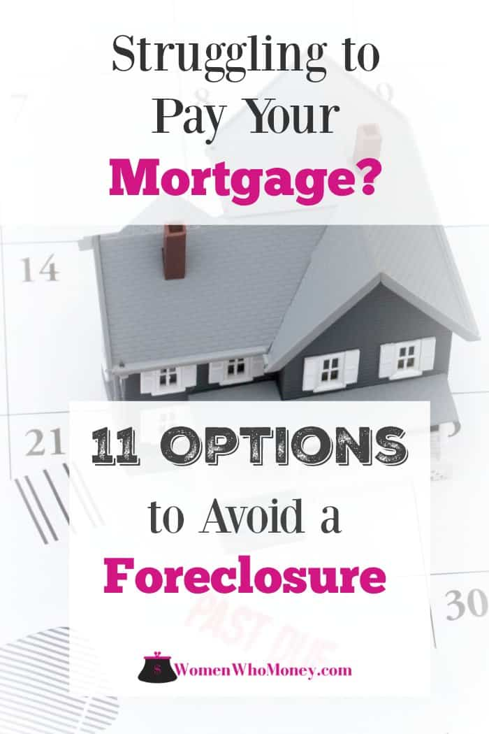 11 options to consider to avoid a foreclosure when you can't pay your mortgage