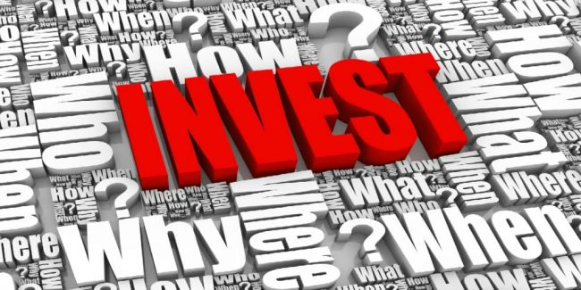 the how, when, where, and why questions about investing