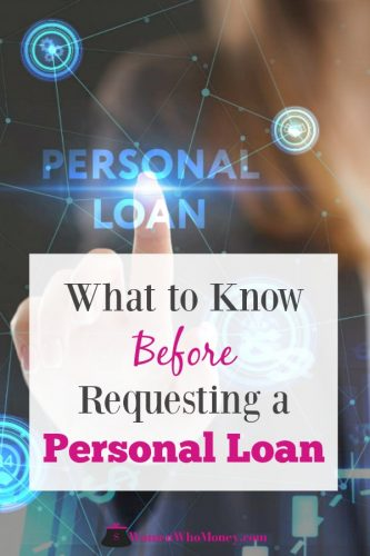 what to know before requesting a personal loan