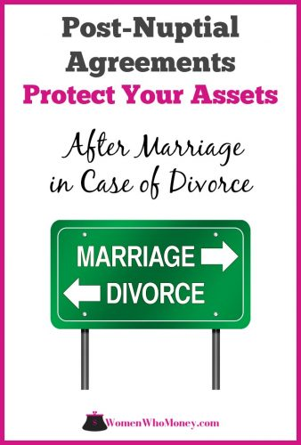 Postnuptial agreements can be made in loving and trusting relationships and aren't necessarily indicative of problems in the relationship.