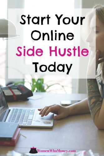 start your online side hustle today