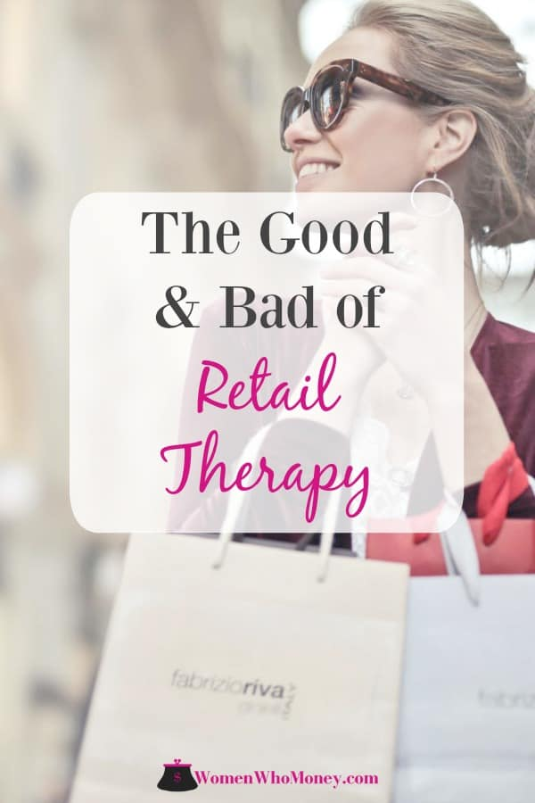 good and bad of retail therapy