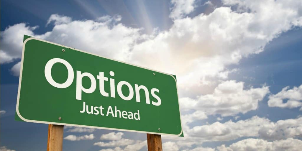 employee stock options just ahead sign