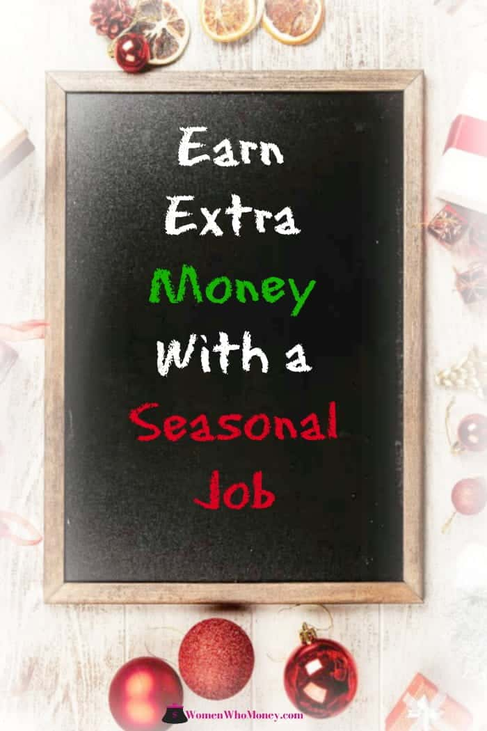 earn extra money with a seasonal job