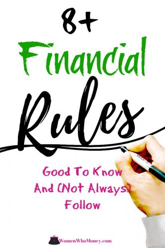financial rules good to know and not always followed graphic