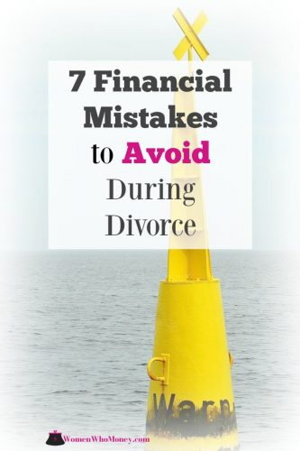 7 financial mistakes to avoid during divorce