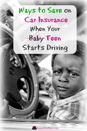 ways to save on car insurance when your teen starts driving graphic