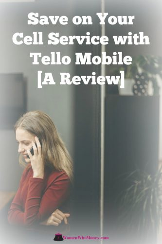 graphic reading save on your cell service with Tello Mobile a review