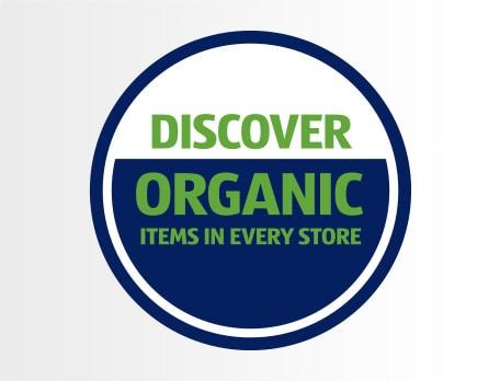 aldi discover organic logo