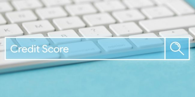 search for credit score