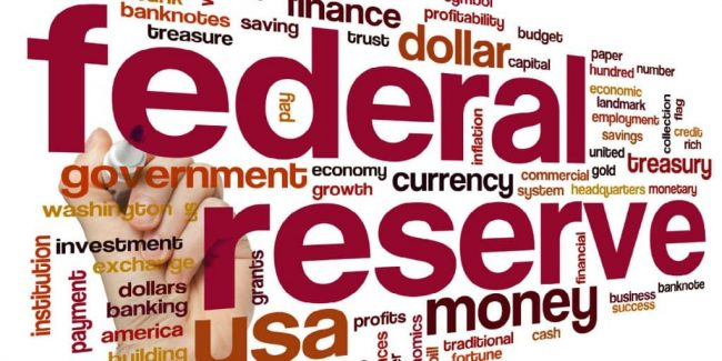 federal reserve word graphic