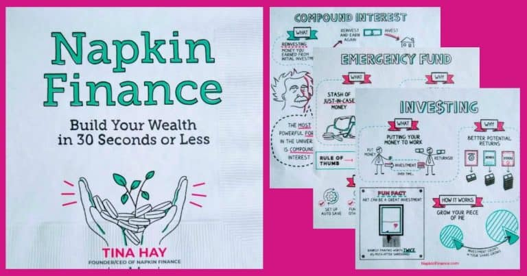 Napkin Finance: Personal finance for visual learners [Book Review]