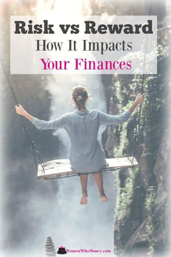 risk vs reward how it impacts your finances graphic