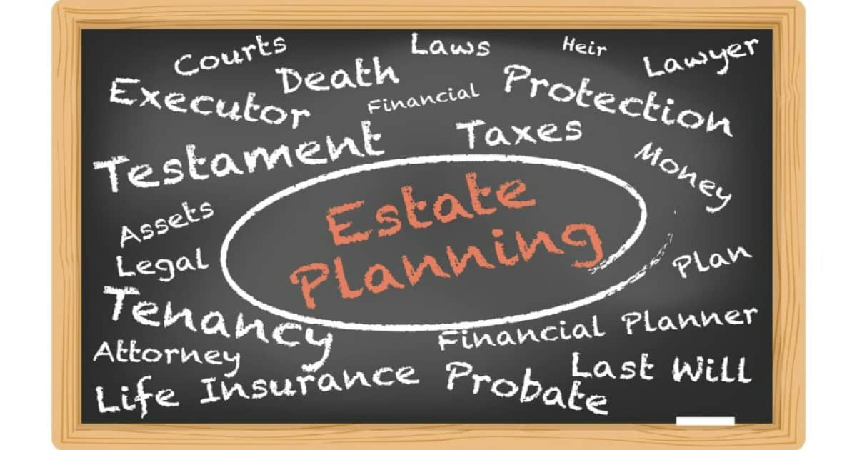 estate planning and associated words