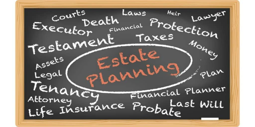 estate planning  words and concepts