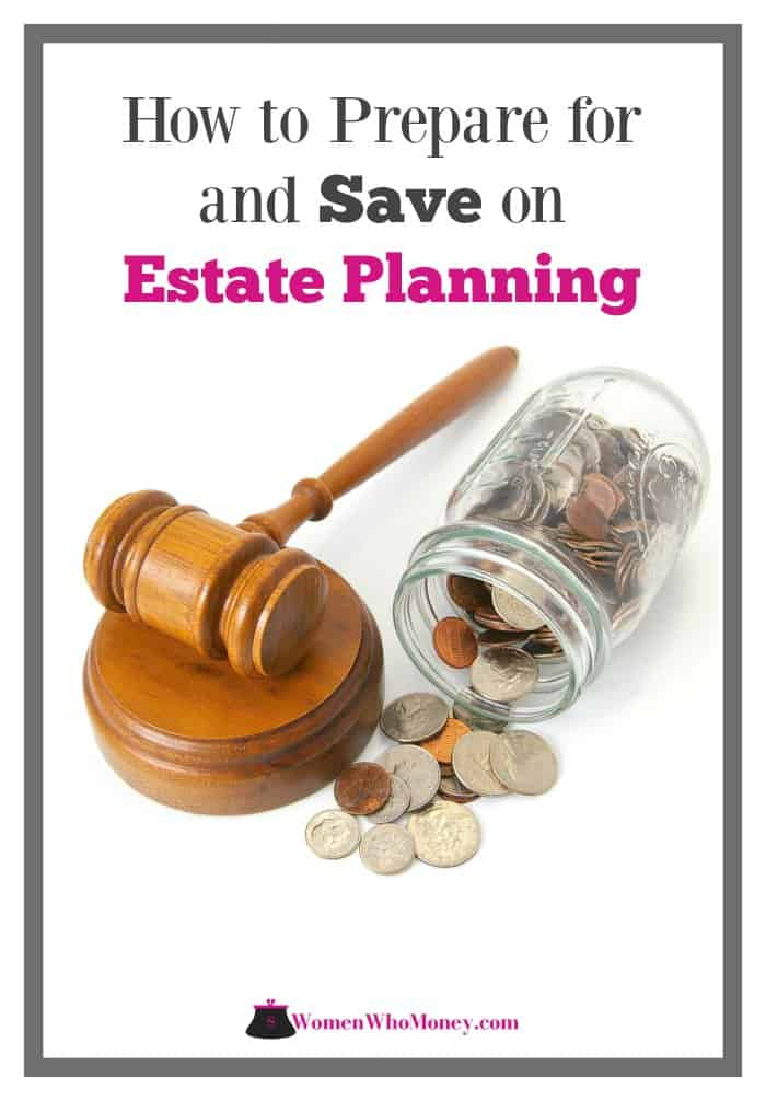 how to prepare for and save on estate planning graphic