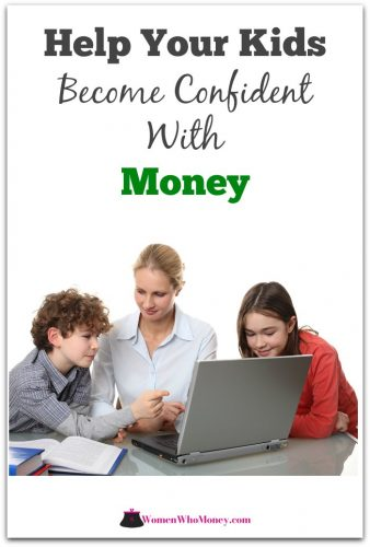 help your kids become confident with money graphic