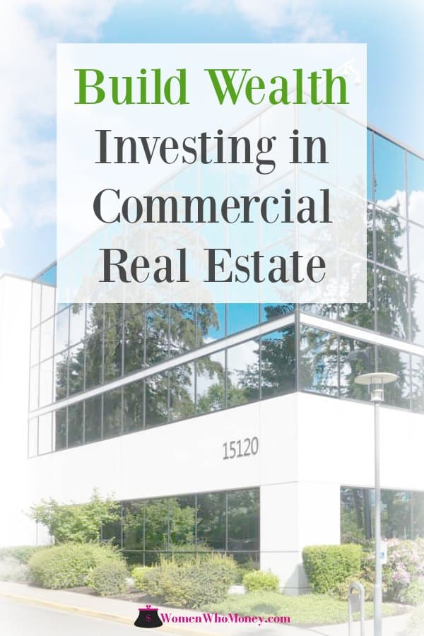 build wealth investing in commercial real estate graphic