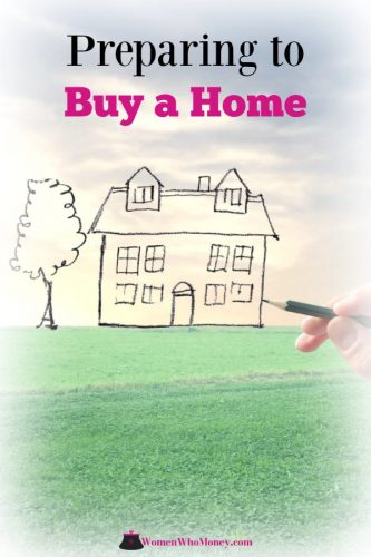 preparing to buy a home graphic