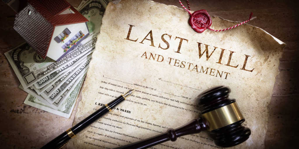will and assets for probate court