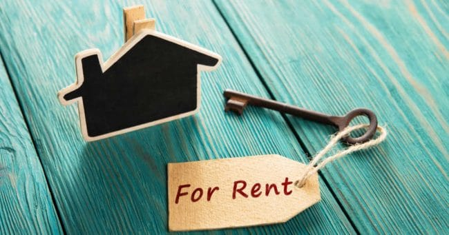 renting out a house