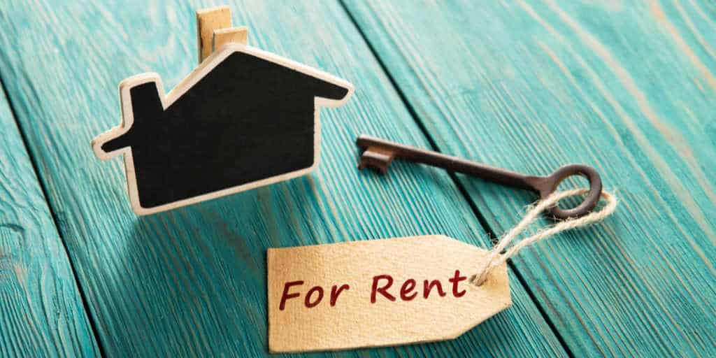 becoming a landlord with a house for rent