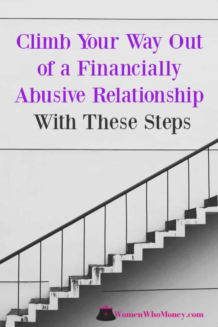 Climb Your Way Out of a Financially Abusive Relationship