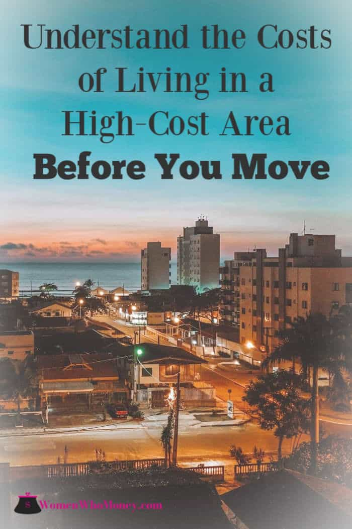understand the costs of living in a high cost area before you move graphic