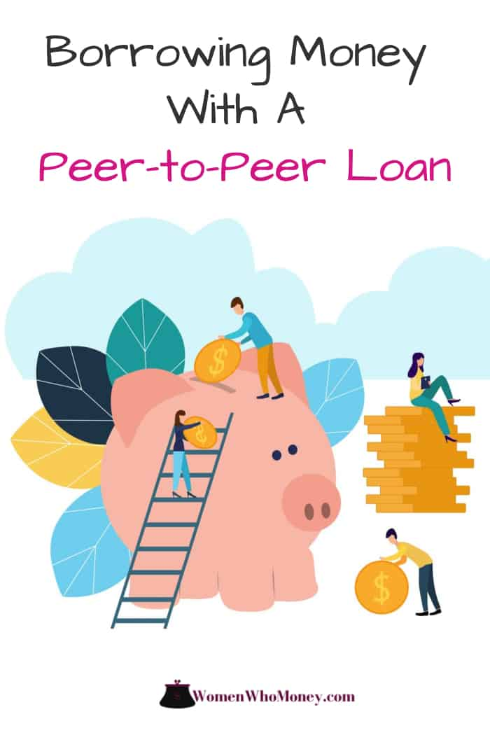 borrowing money with a peer-to-peer loan