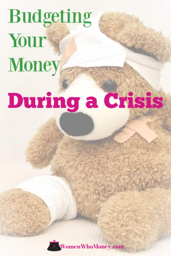 budgeting your money during a crisis