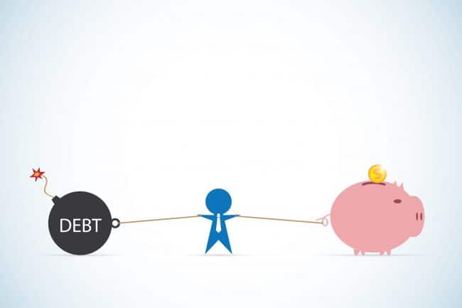 eliminate debt or save and invest