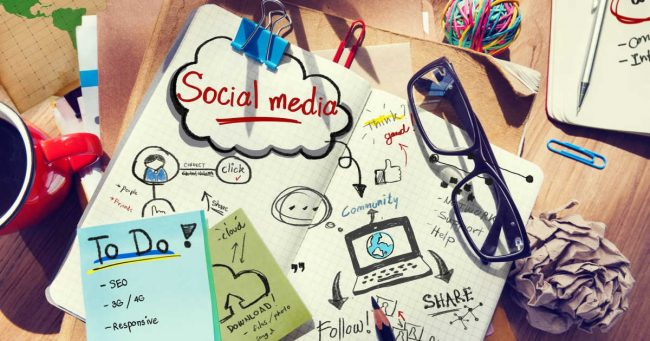 using social media to market business