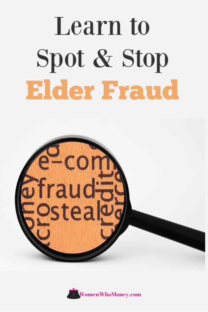 learn to spot and stop elder fraud