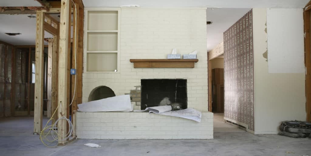 ina live-in house flip during renovations