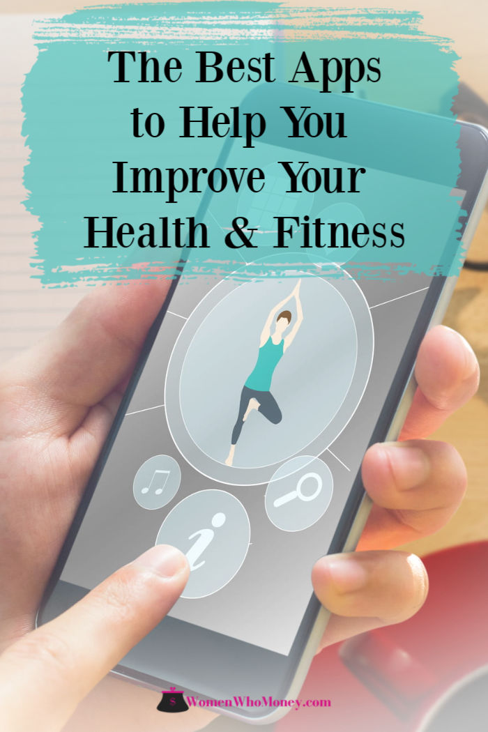 the best apps to help you improve your health and fitness graphic