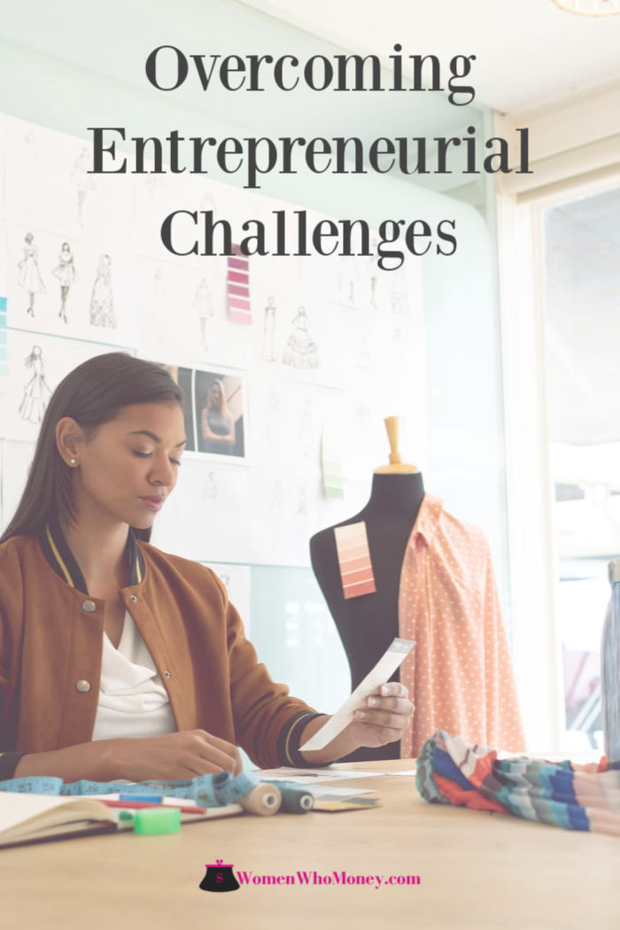 female business owner overcoming entrepreneurial challenges