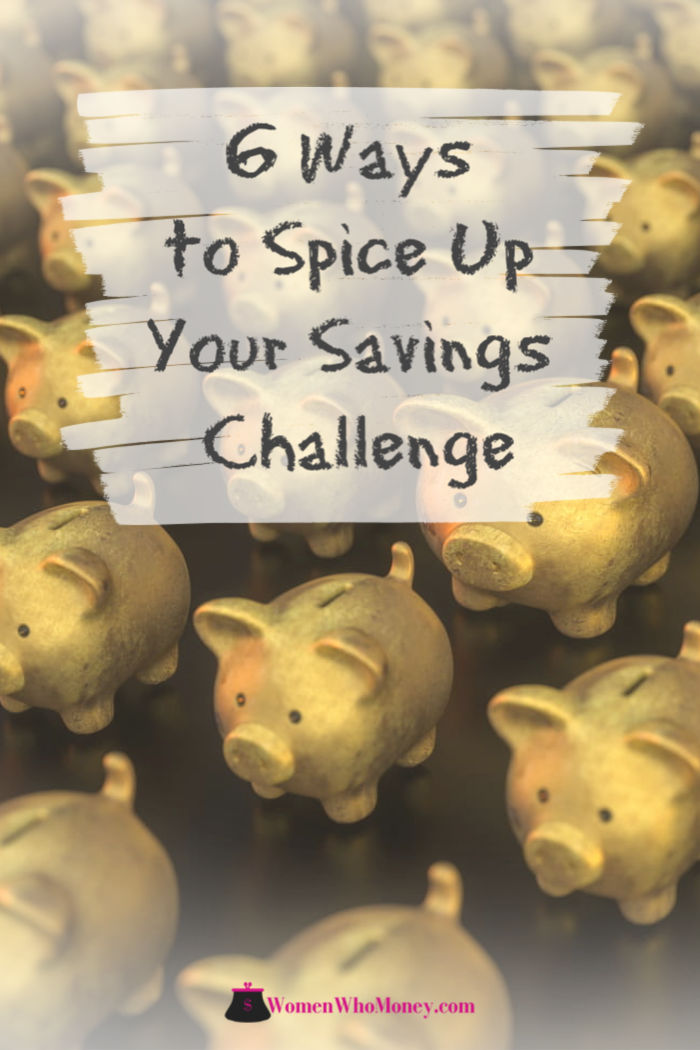 6 ways to spice up your savings challenge