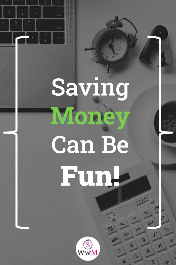 saving money can be fun graphic