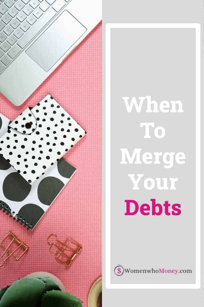 when to merge your debts graphic
