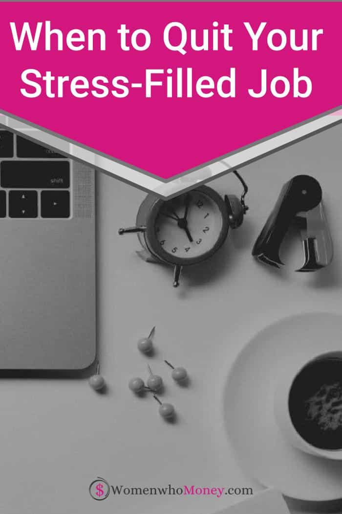 Before You Quit Your Stressful Job - Read This