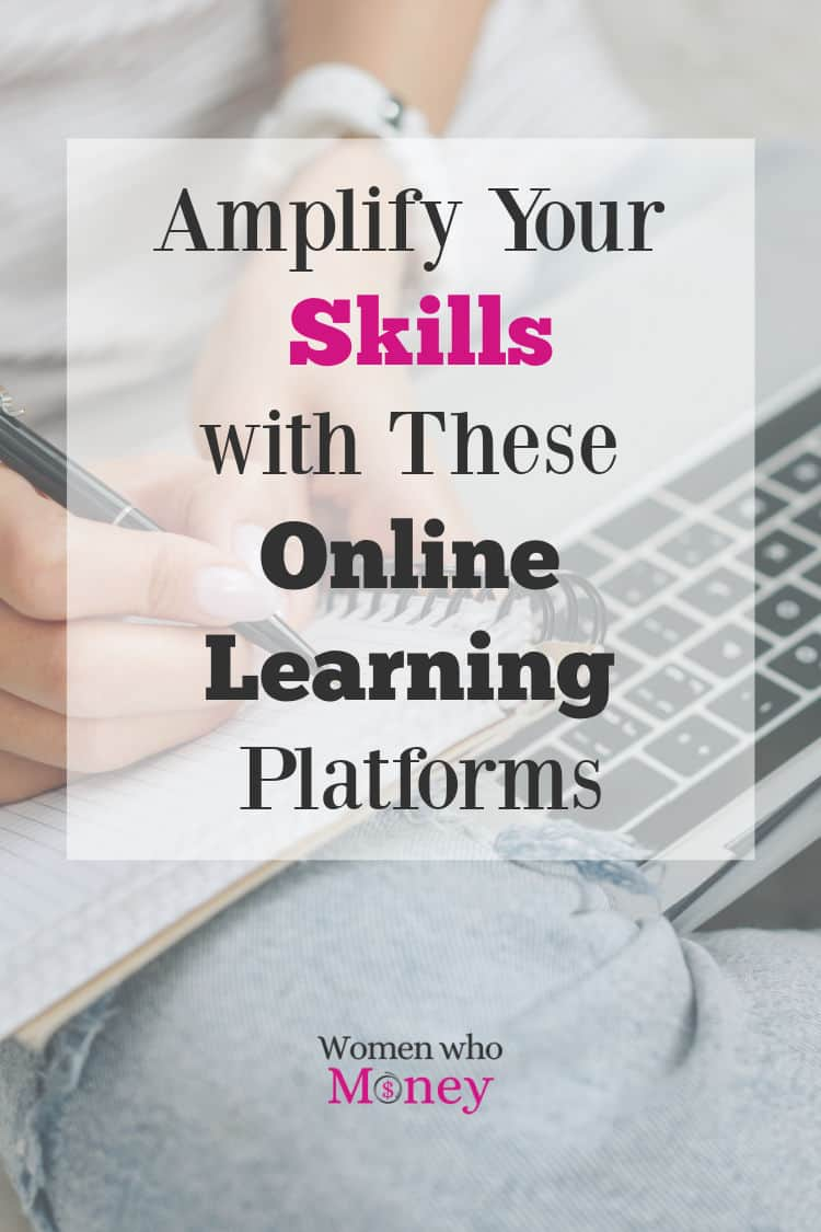 Amplify Your Skills with these Online Learning Platforms graphic