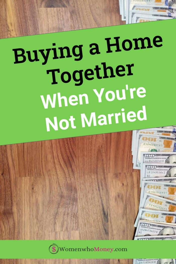 buying a home together when you're not married graphic