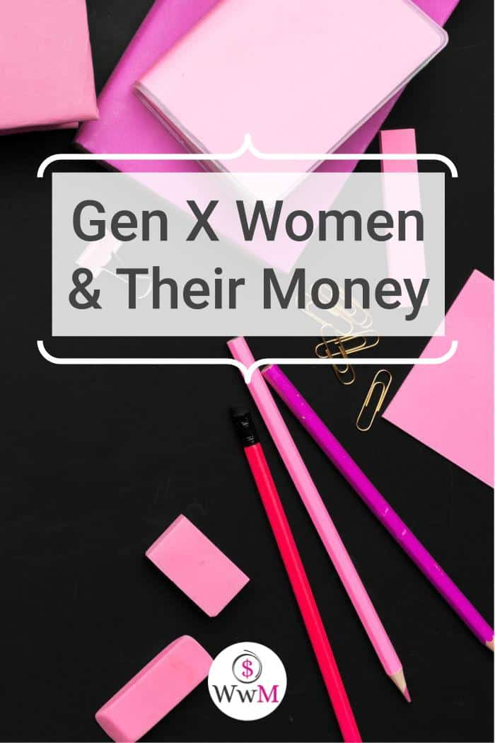 gen x women and their money graphic